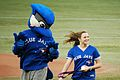 Rosie with Ace for ceremonial first pitch(7953578404).jpg