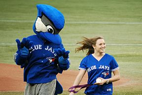 Rosie with Ace for ceremonial first pitch(7953578404)