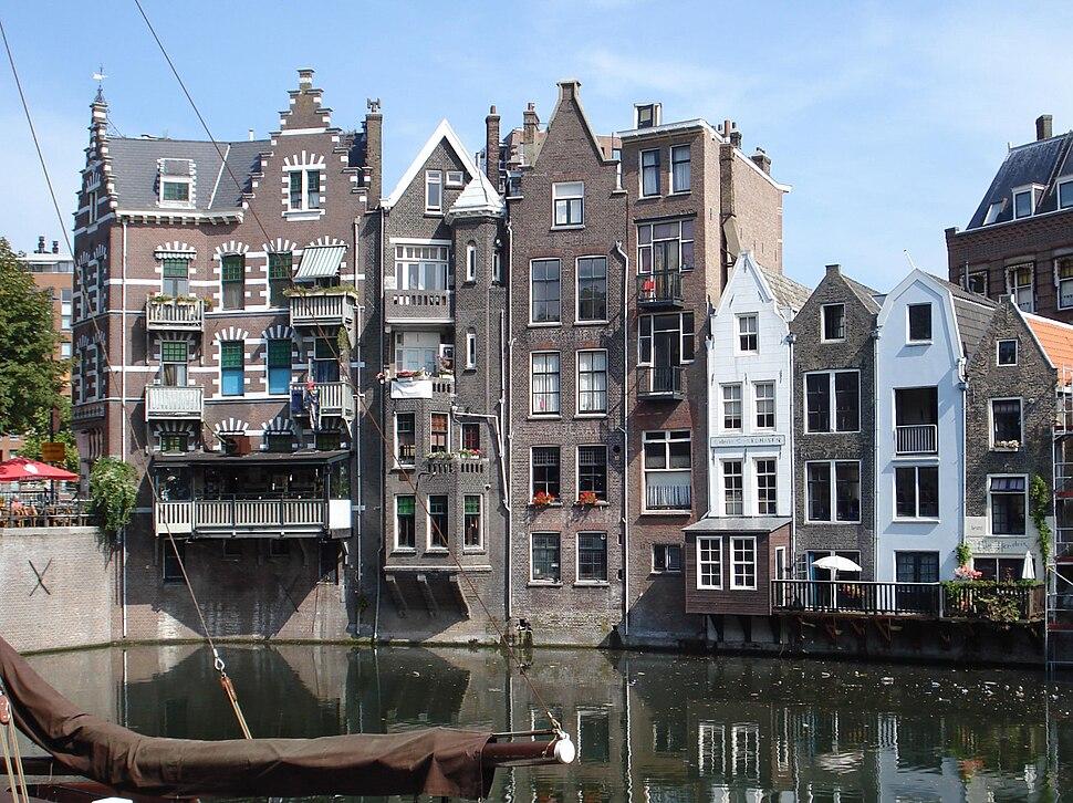 Rotterdam aelbrechtskolk wallekant
