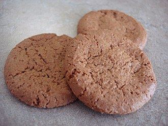 Ginger snap - Drop cookie-style ginger snaps