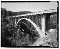 Route 87, Beaver Creek Bridge, elevation. View WSW. - Beaver Creek Bridge, Hot Springs, Fall River County, SD HAER SD-53-1.tif