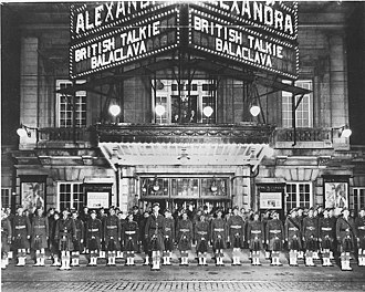 Royal Alexandra Theatre - Royal Alexandra Theatre in 1930. Normally a legitimate theatre, on this occasion the Royal Alex was showing a talking picture, then still quite a novelty.