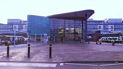 How to get to Royal Derby Hospital with public transport- About the place