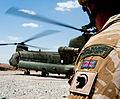 Royal Marine with Chinook MOD 45151604.jpg