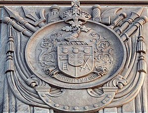 John M. Lyle - Image: Royal Military College of Canada Arms on Memorial Arch