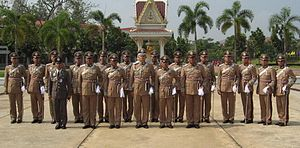 Royal Thai Police - RPCA officers of Royal Thai Police Cadet Academy