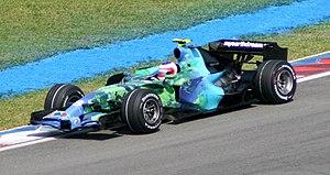 Honda RA107 - Image: Rubens Barrichello 2007 Malaysia