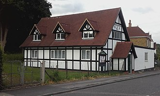 Kings Langley - The Rucklers Lane Community Hall was built for the workers of nearby Shendish Manor in 1909 as a memorial to Arthur Longman, the owner of the estate.