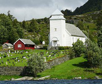 Hans Linstow - Image: Rugsund church 1