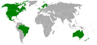 Localización de los servidores de RuneScape.