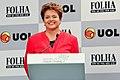 São Paulo - SP. Dilma em debate transmitido online pela UOL-Folha (4904700531).jpg