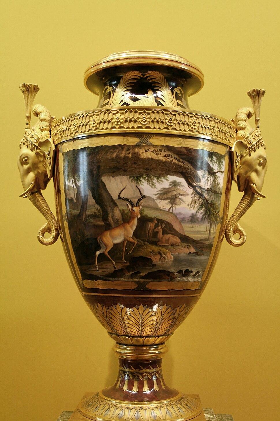 Sèvres Clodion vase