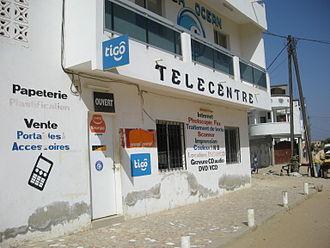 Telecentre - Telecentre building in Senegal