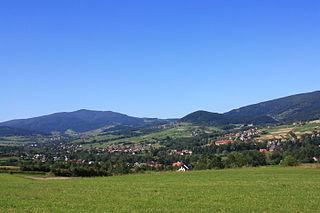 Słopnice Village in Lesser Poland, Poland