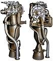 S-75M Dvina SAM rocket engine.jpg