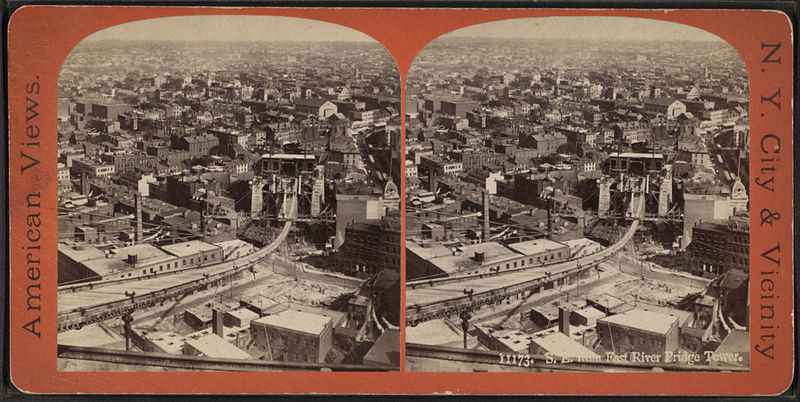 File:S.E. (south-east) from East River bridge tower, from Robert N. Dennis collection of stereoscopic views.jpg