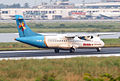 S2-AFE ATR 72-212 United Airways Rolling for Take Off (8864663751).jpg