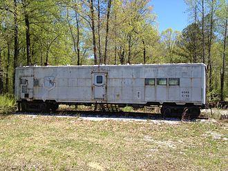 Heart of Dixie Railroad Museum - Strategic Air Command rail car