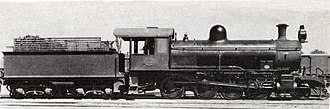 South African Class 8Y 2-8-0 - CGR 8th Class no. 820, SAR Class 8Y no. 899
