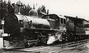 South African Class KM 0-6-0+0-6-0 - Image: SAR Class KM no. 1600 (0 6 0+0 6 0)