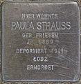 SG Stolperstein - Paula Strauss, Kronprinzenstraße 7.jpg