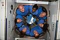 STS-131 crew members in ISS Cupola.jpg