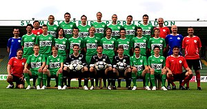 SV Mattersburg - Team photo for the 2010–2011 season