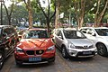 SZ 深圳 Shenzhen 羅湖 Luohu District 翠竹路 Cuizhu North Road Luk Ming Yuan Dec-2017 IX1 outdoor carpark BMW Lions Club sign.jpg