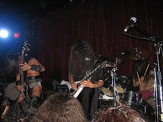 Sabbat (Japanese band) - Image: Sabbat live