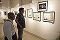 Sabyasachi Chakrabarty Visits Group Exhibition Accompanied by Asit Kumar Roy - PAD - Kolkata 2016-07-29 5207.JPG