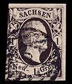 Sachsen 1851 4 Friedrich August II.jpg