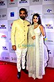 Sagarika Ghatge and Zaheer Khan at the CPAA show.jpg