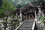 Saguriten-Shrine in Iwayama, Ujitawara, Kyoto July 6, 2018 16.jpg