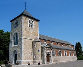 De kerk in Saint-Georges-sur-Meuse