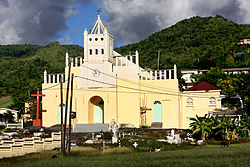 Saint Joseph Parish Church. Saint Joseph, Dominica.