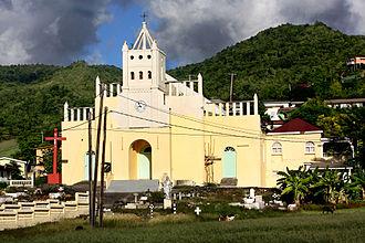 Saint Joseph Parish, Dominica - Saint Joseph Parish Church.  Saint Joseph, Dominica.