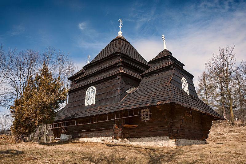 File:Saint Michael Church in Uzhok.jpg
