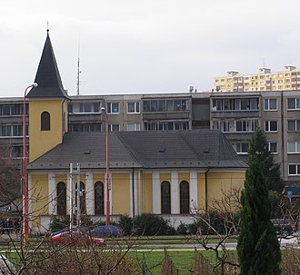 Karlova Ves - Church of Saint Michael Archangel