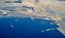 Puerto de Salaverry, uno de los puertos comerciales más activos del país.