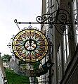 Salzburg Getreidegasse Ladenschild Aschauer Hüte.jpg