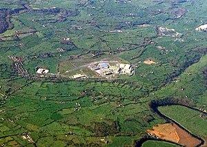 Samlesbury Aerodrome - Aerial picture of Samlesbury Aerodrome.