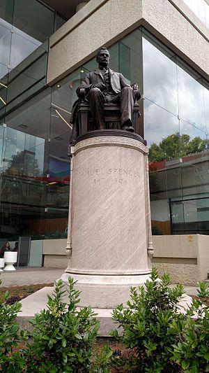Samuel Spencer (railroad executive) - Samuel Spencer Statue