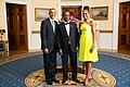 Samura Kamara with Obamas 2014.jpg