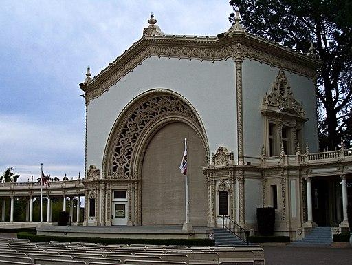 San Diego Organ Pavilion, Balboa Park