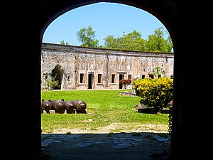 History of Honduras - The Fortress of San Fernando de Omoa.