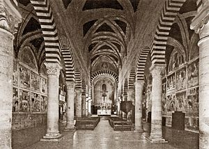 Collegiate Church of San Gimignano - Interior, Collegiate Church