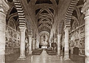 Collegiate Church of San Gimignano - Interior, Collegiate Church