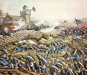 Battle of San Juan Hill - Image: San Juan Hill by Kurz and Allison