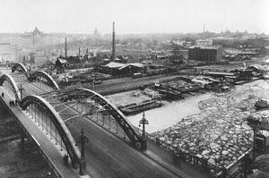 Sankt Eriksbron - Sankt Eriksbron in 1927.