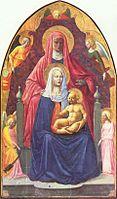 Sant'Anna Metterza, 1424-1425, Φλωρεντία, Ουφίτσι